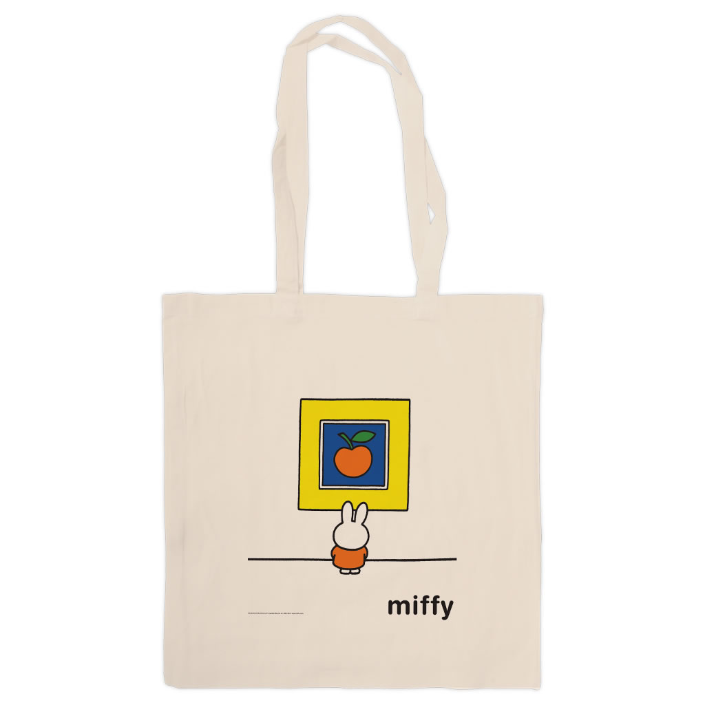 Miffy at an Art Gallery Tote Shopper Bag