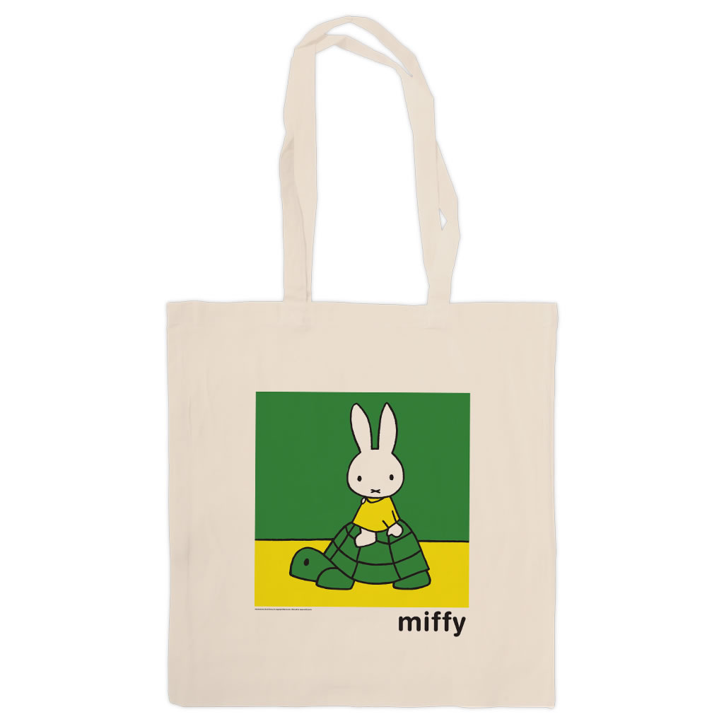 Miffy on a Tortoise Tote Shopper Bag
