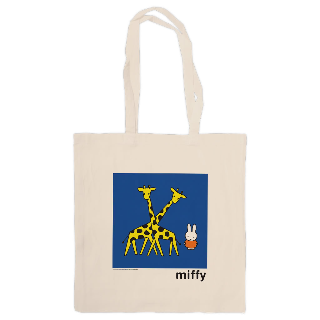 Miffy with Two Giraffes Tote Shopper Bag