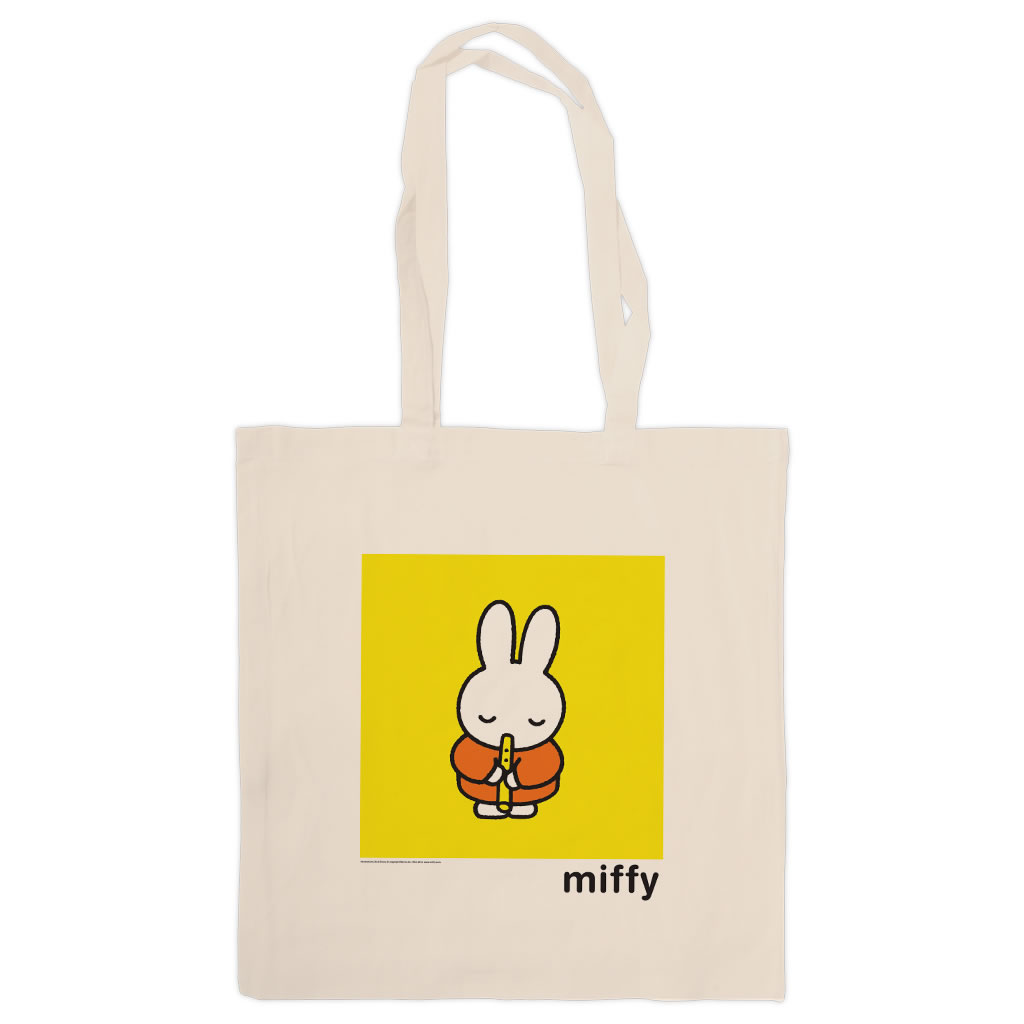 Miffy Playing the Recorder Tote Shopper Bag