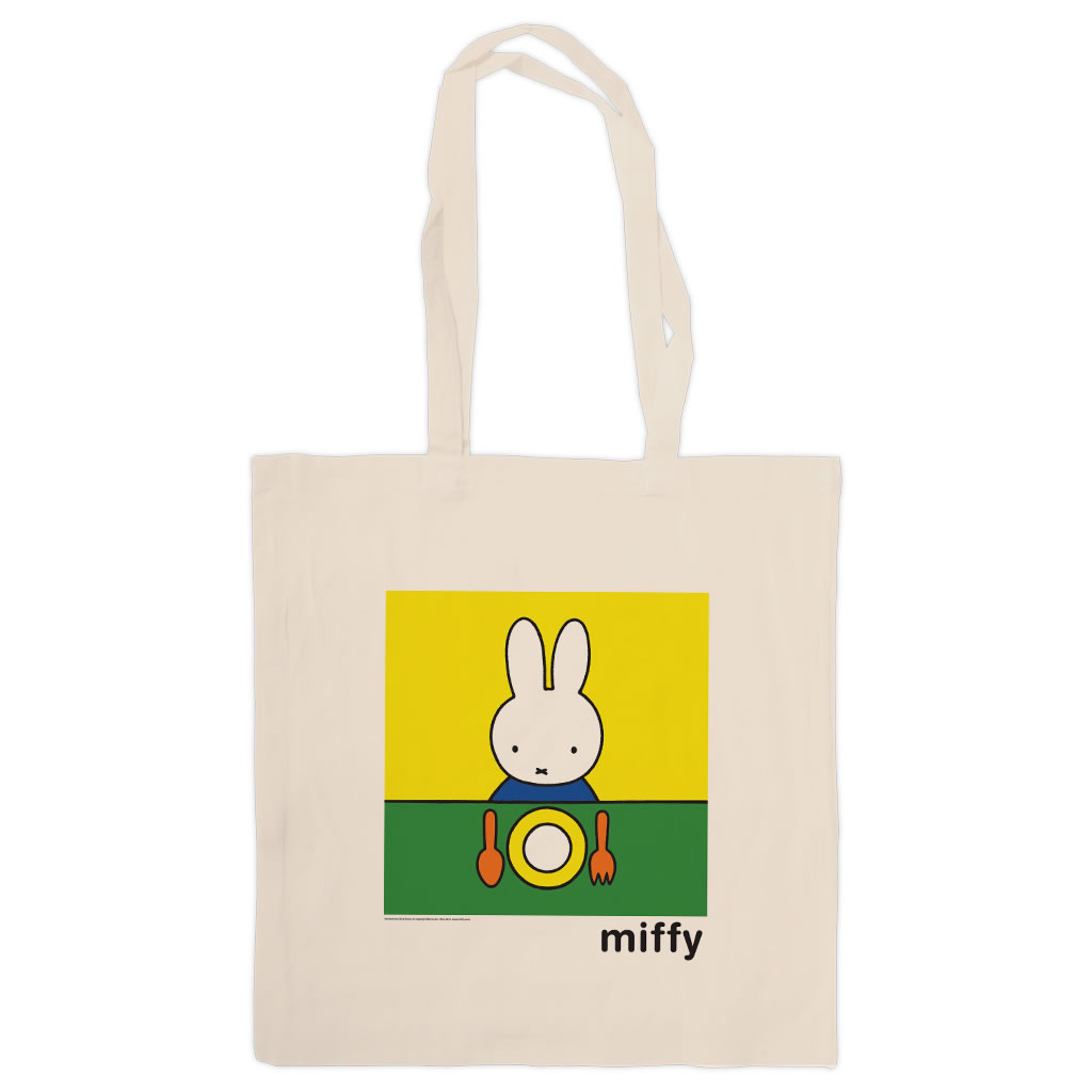 Miffy Ready to Eat Tote Shopper Bag