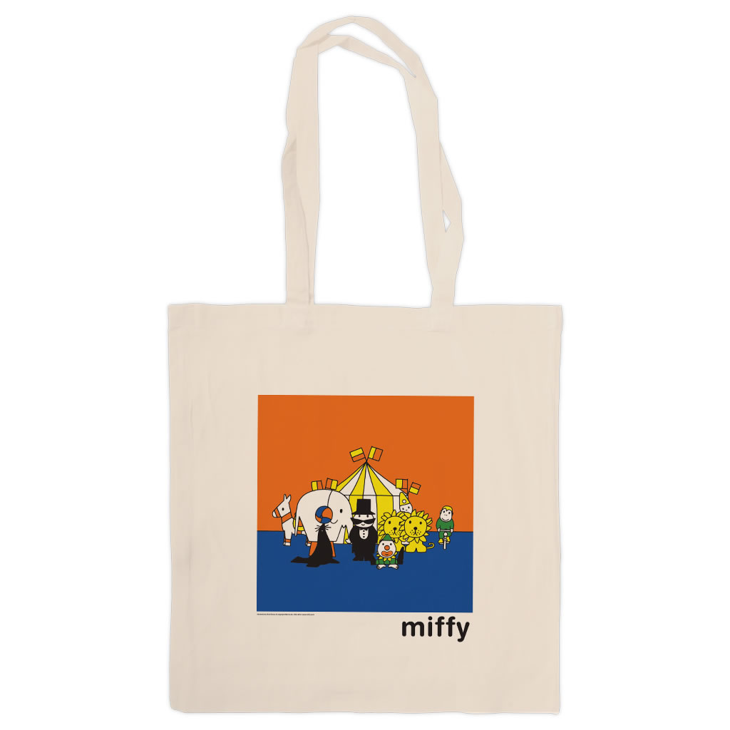 66f690351 Miffy and Friends at the Circus Tote Shopper Bag