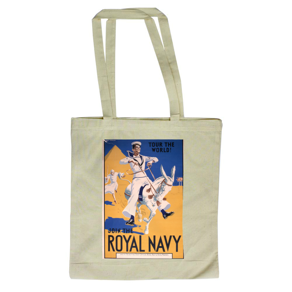 Join the Royal Navy - Tour the World Tote Bag