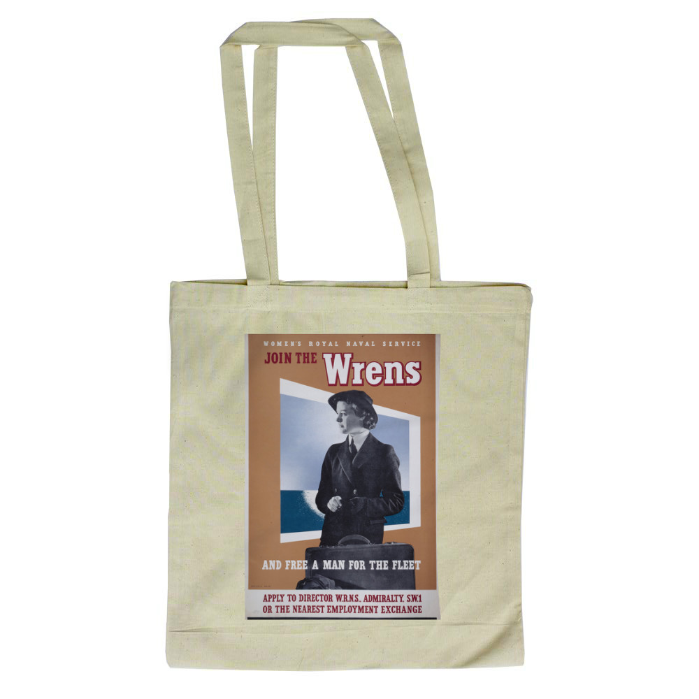 Join the Wrens and Free a Man for the Fleet Tote Bag