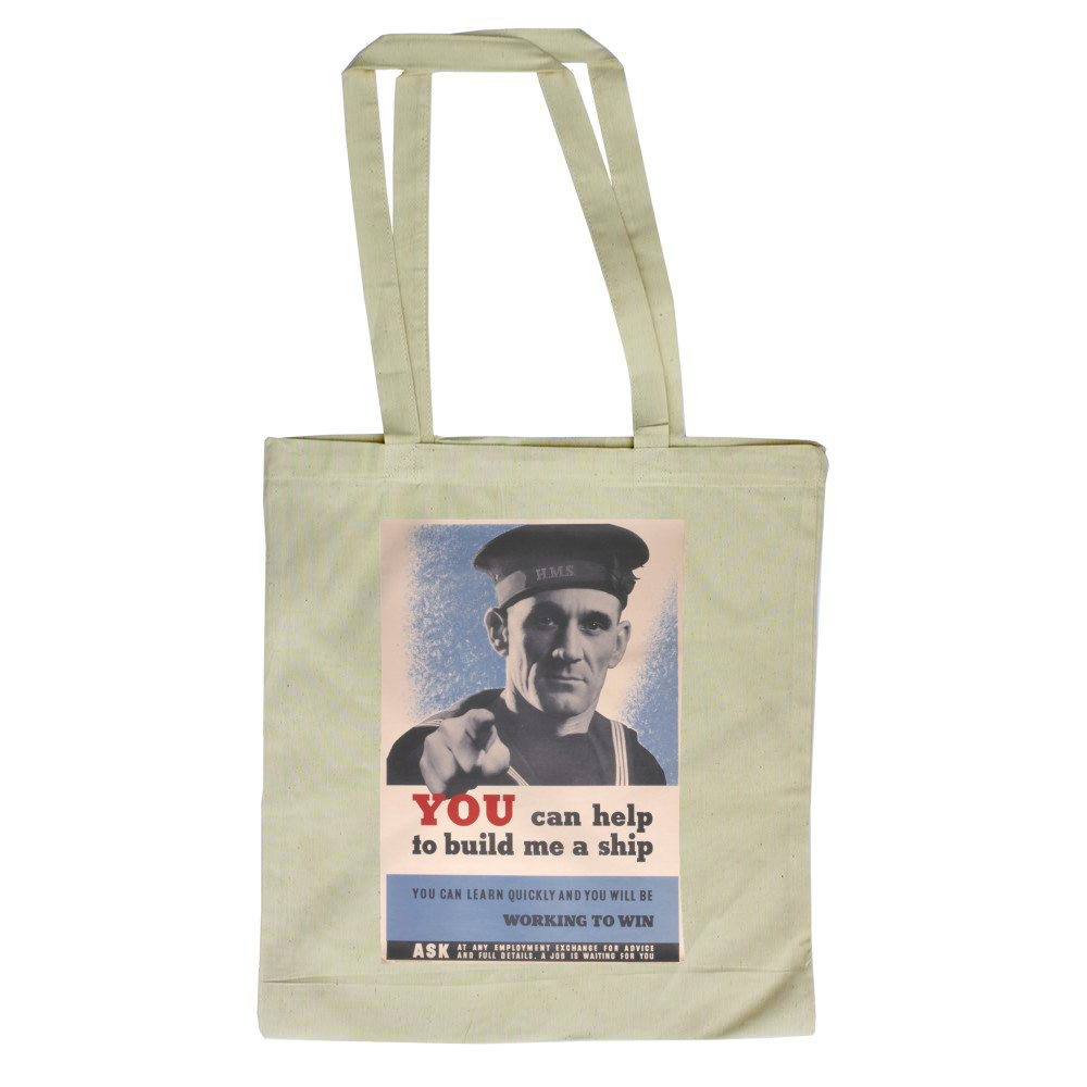 You Can Help to Build Me a Ship Tote Bag