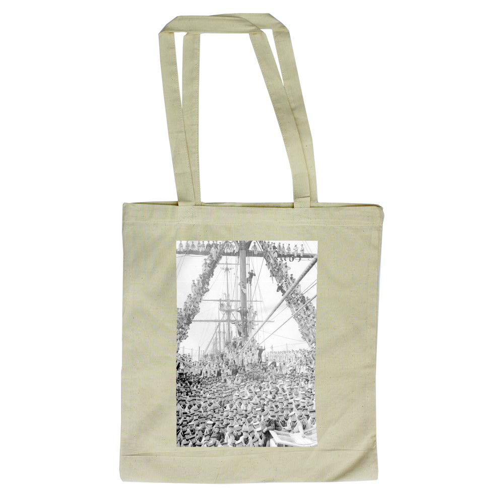 Boys on HMS Impregnable Tote Bag
