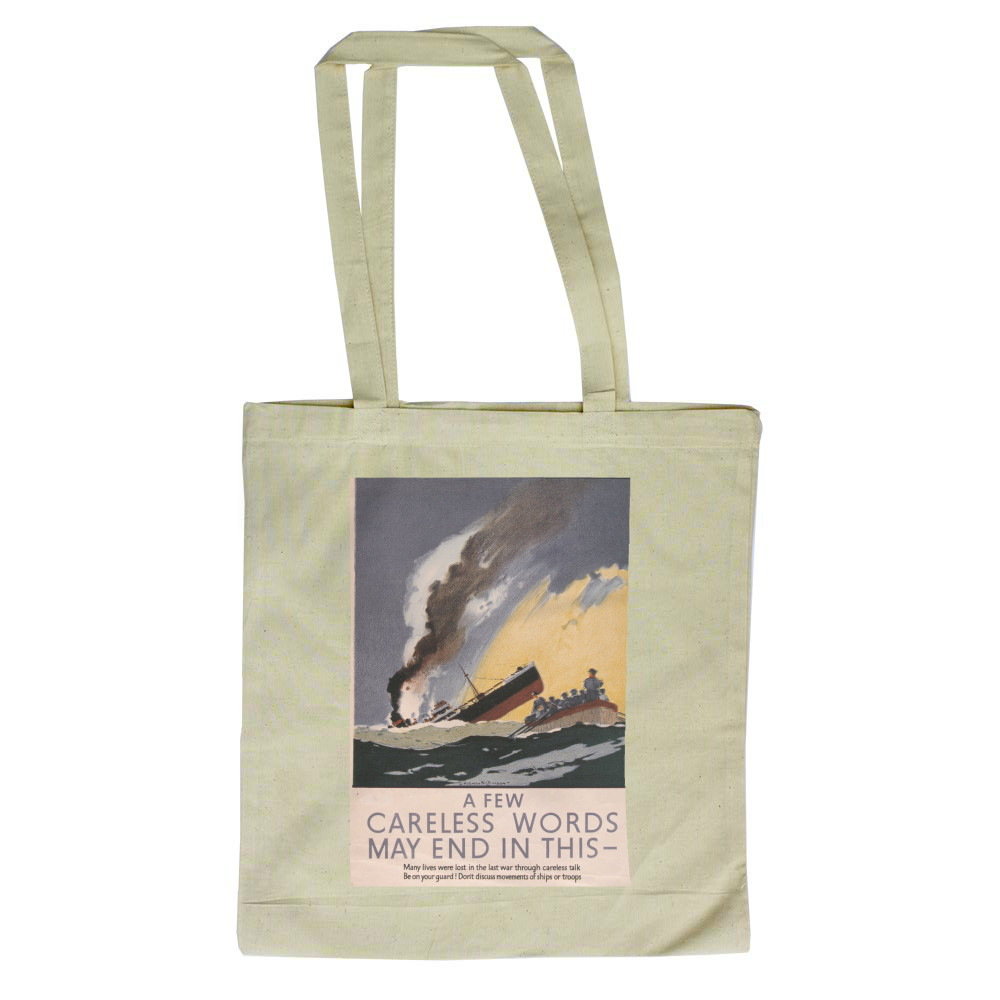 A Few Careless Words May End in This Tote Bag