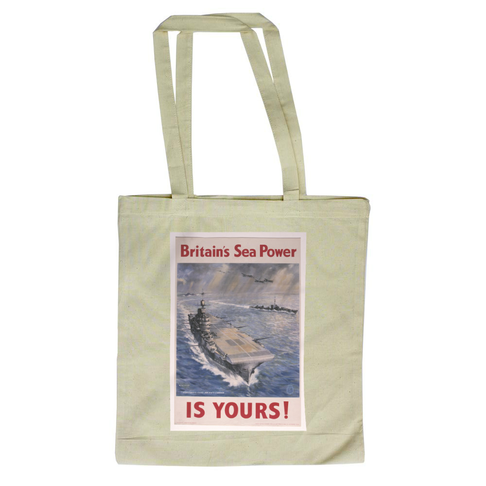 Britain's Sea Power is Yours! Tote Bag