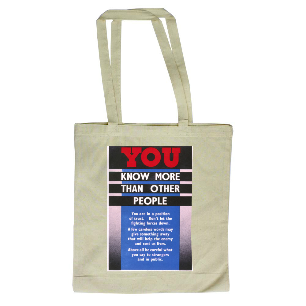 You Know More Than Other People Tote Bag