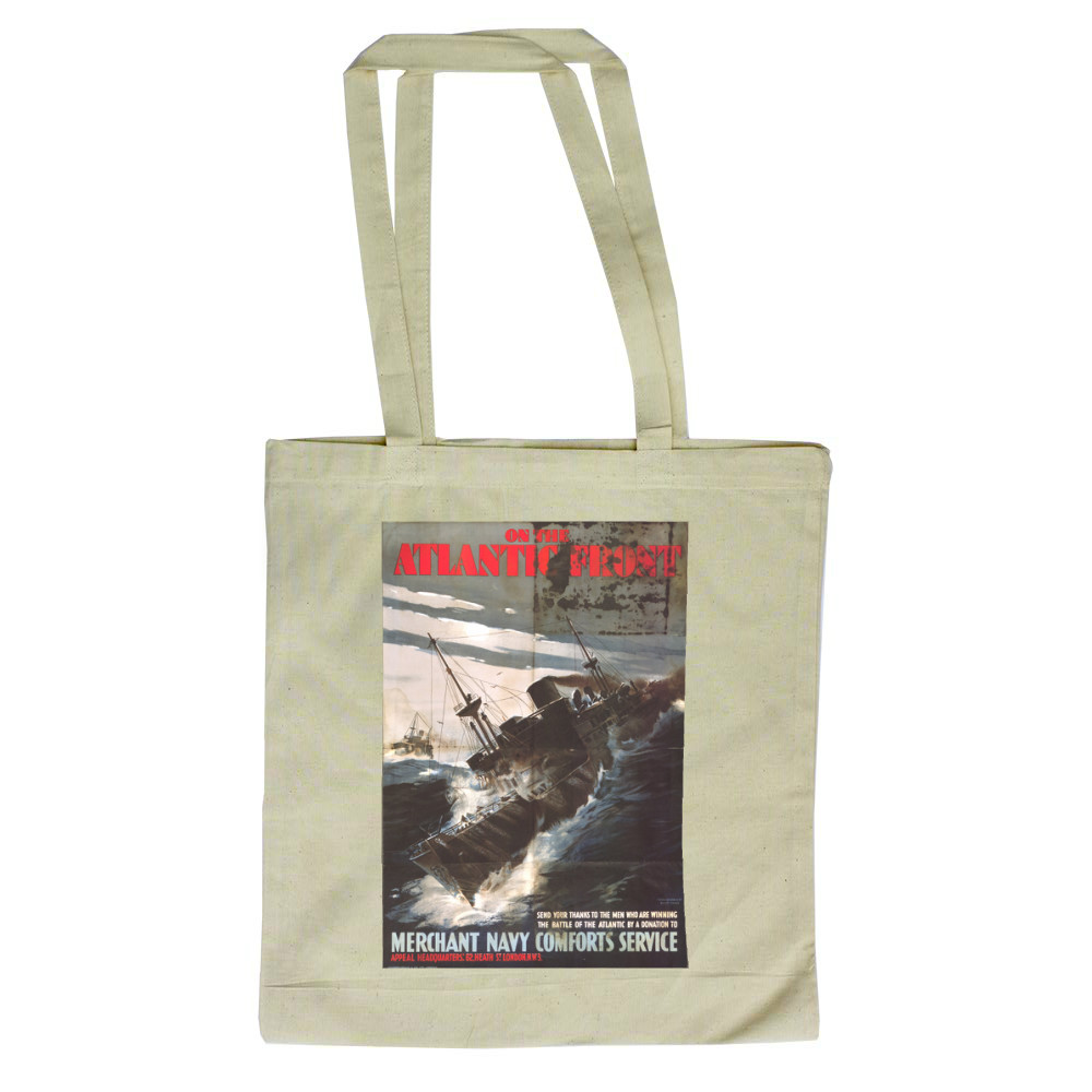 On The Atlantic Front Tote Bag