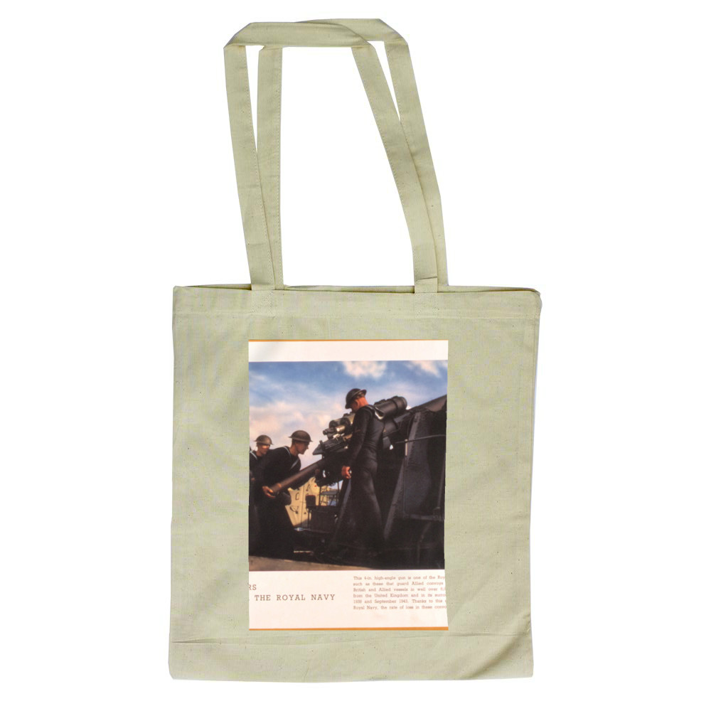 Gunners of the Royal Navy Tote Bag