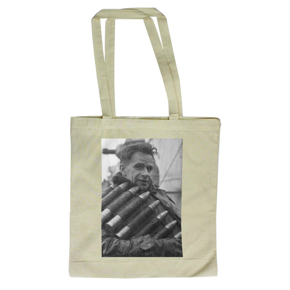 AB Anthony G Turner with Ammunition on HMS Albrighton Tote Bag