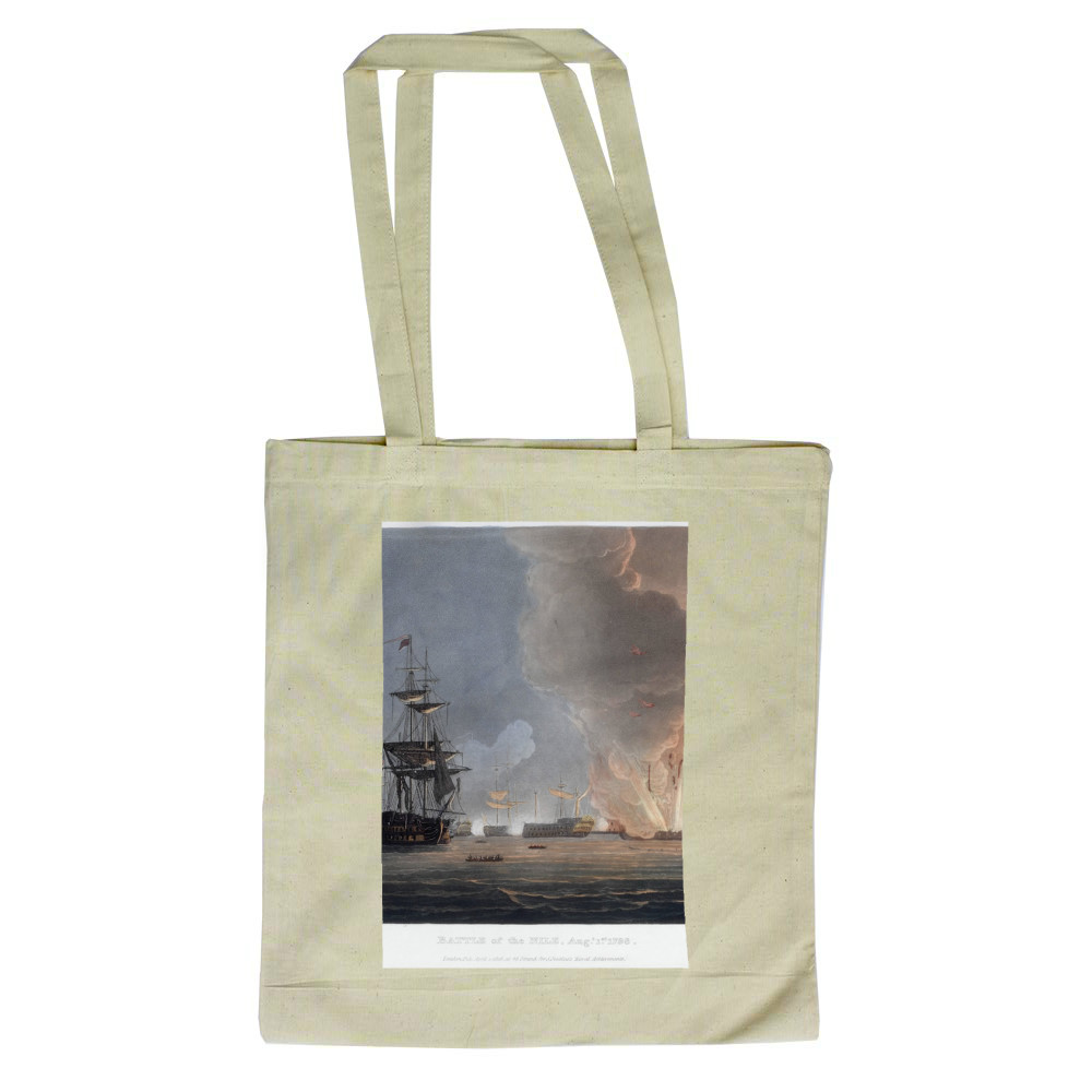 Battle of the Nile, August 1798 Tote Bag