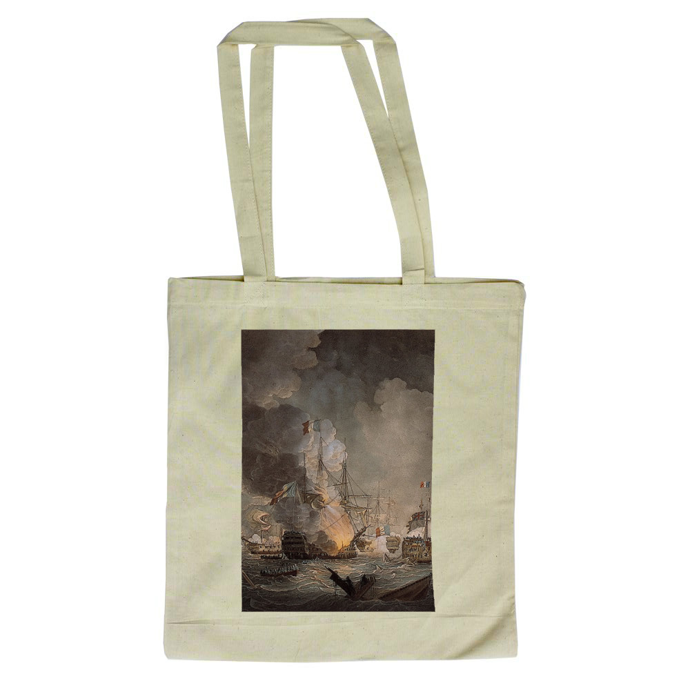 Battle of the Nile Tote Bag