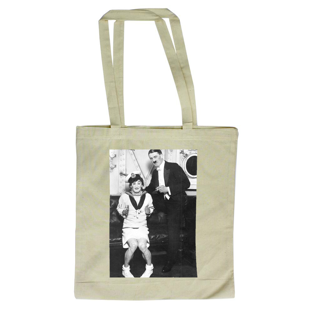 A Ventriloquist Act Tote Bag