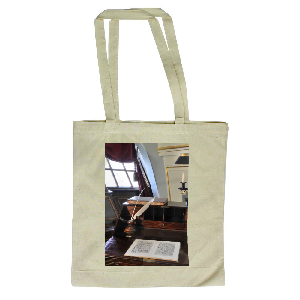 Nelson's Desk on HMS Victory Tote Bag