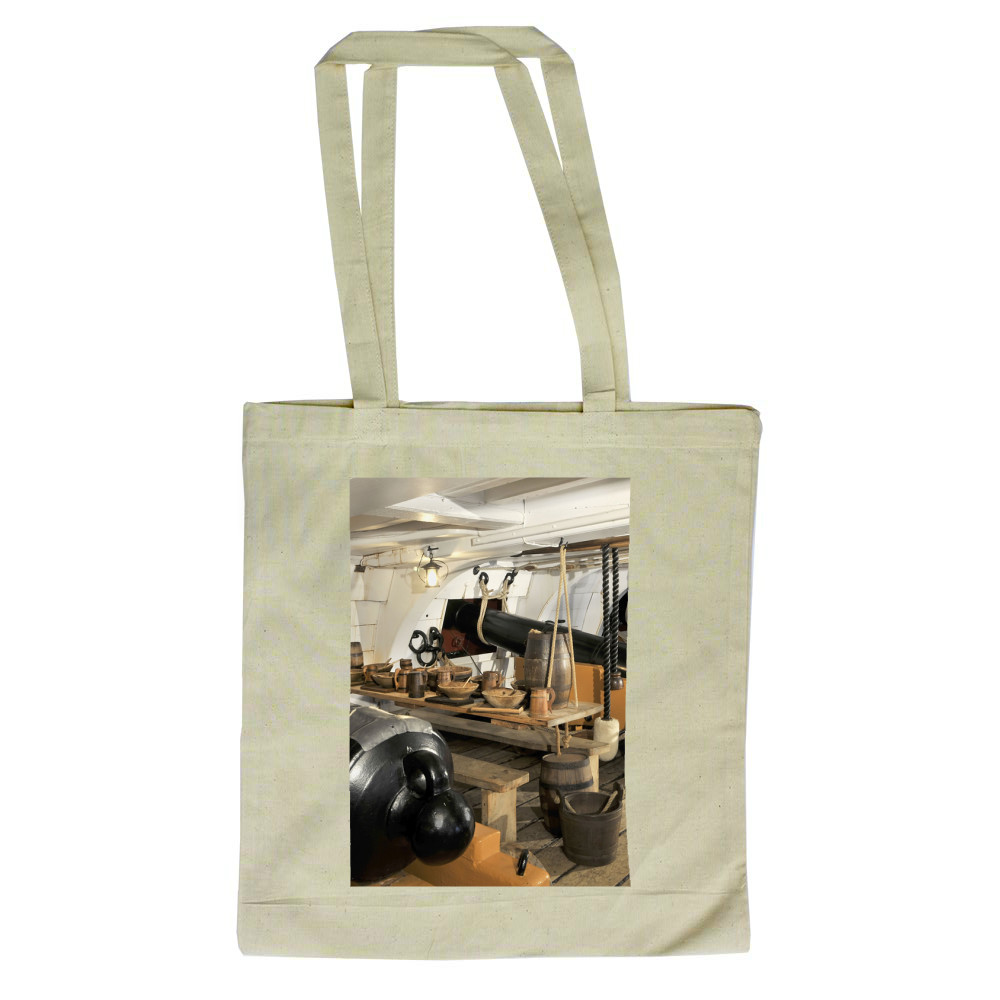 The Mess Deck on Board HMS Victory Tote Bag