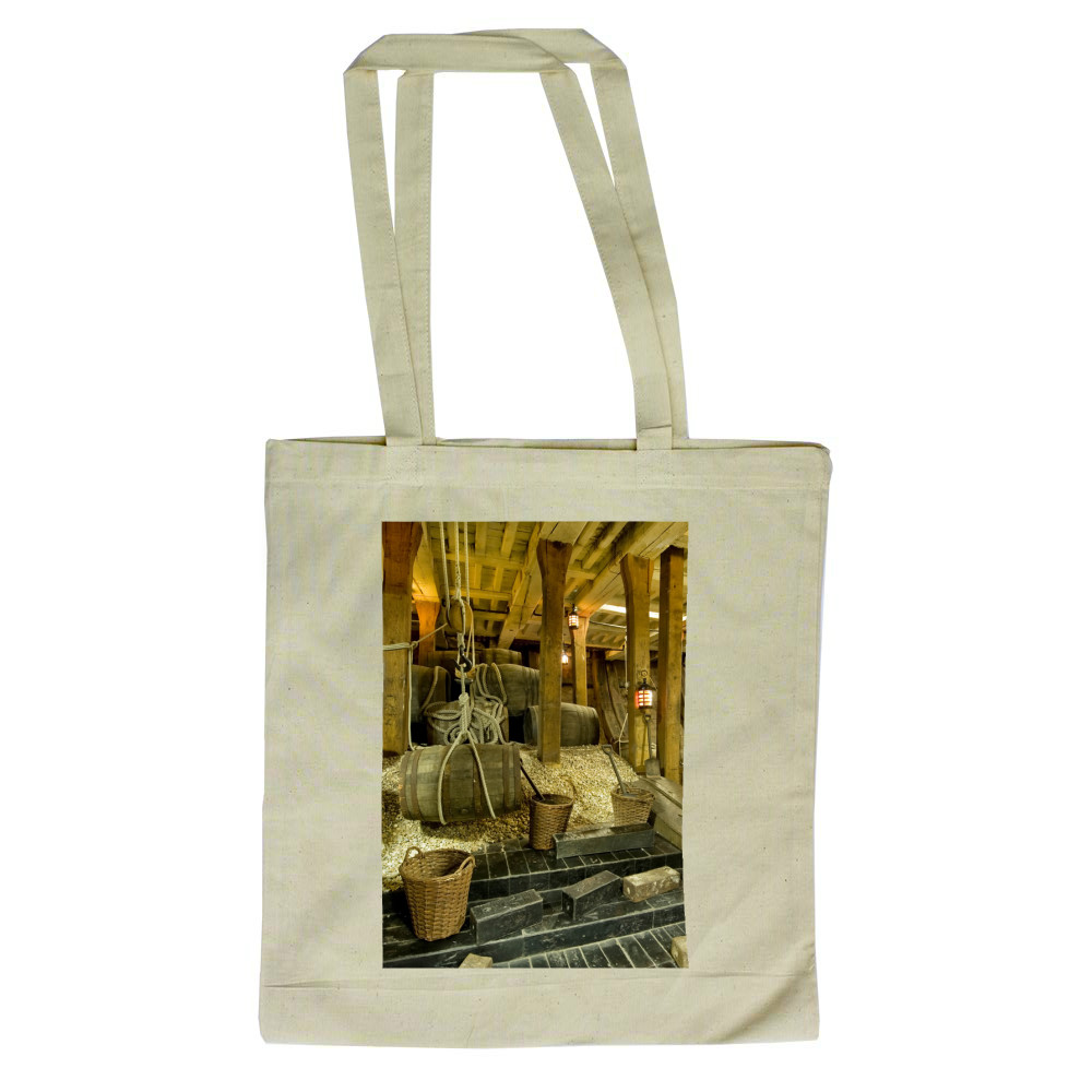 Ballast in the Hold of HMS Victory Tote Bag