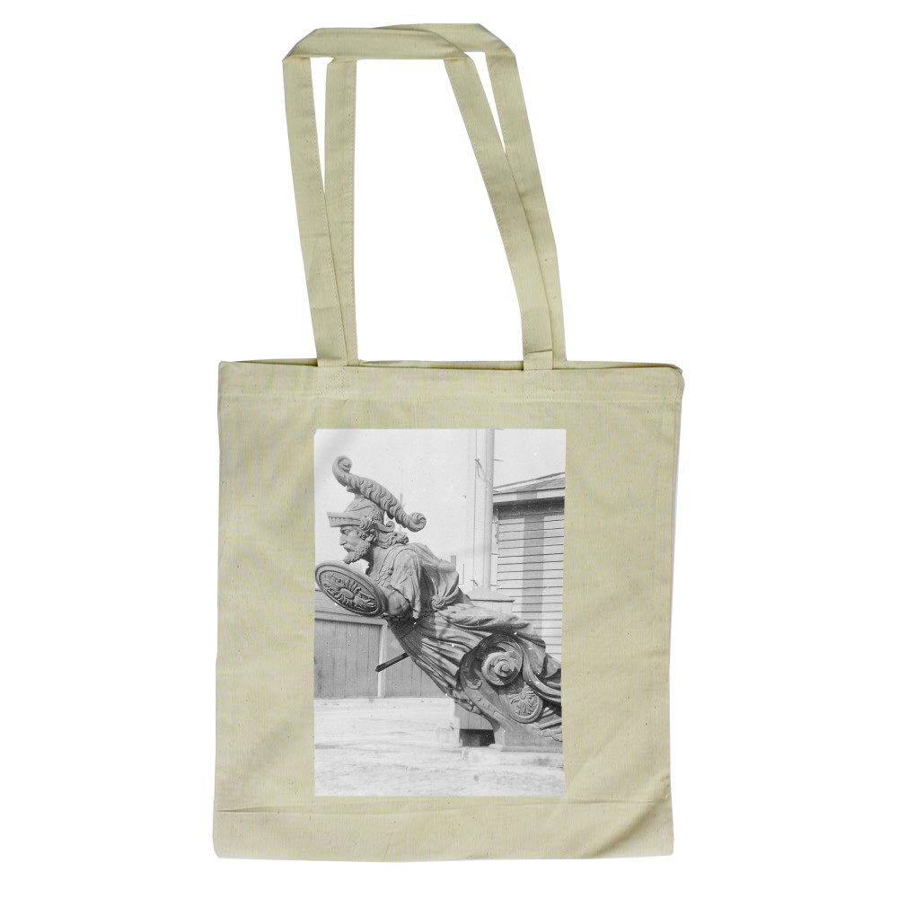 Figurehead of HMS Warrior Tote Bag