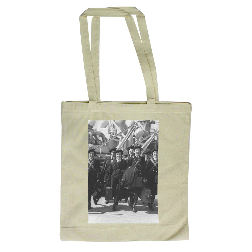 Wrens Embarking onto an Unidentified Ship Tote Bag