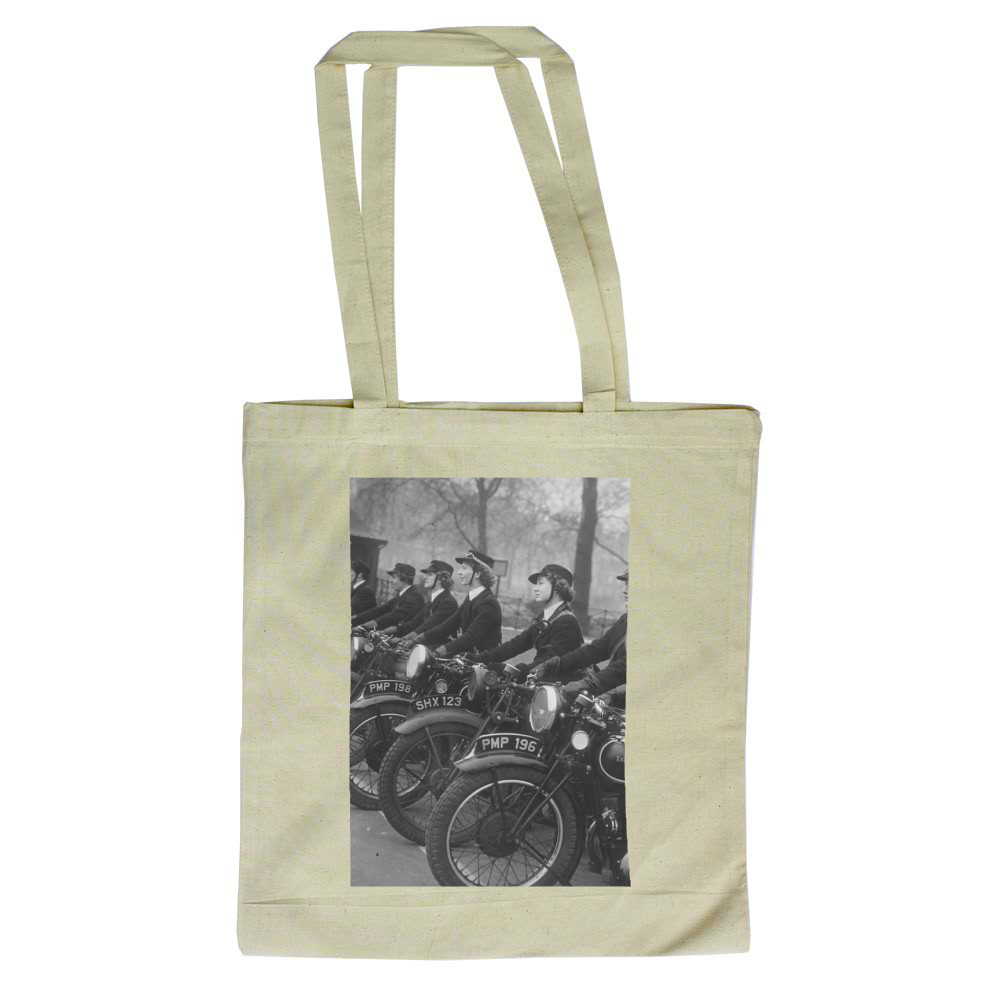 WRNS Despatch Riders Tote Bag