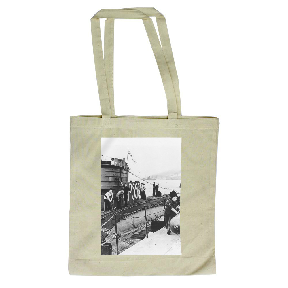 WRNS Torpedo Working Party at HMS Dolphin Tote Bag