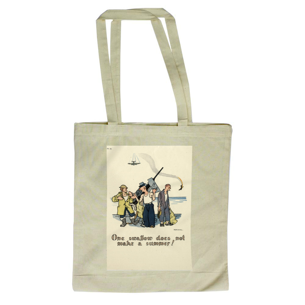 One Swallow... Tote Bag