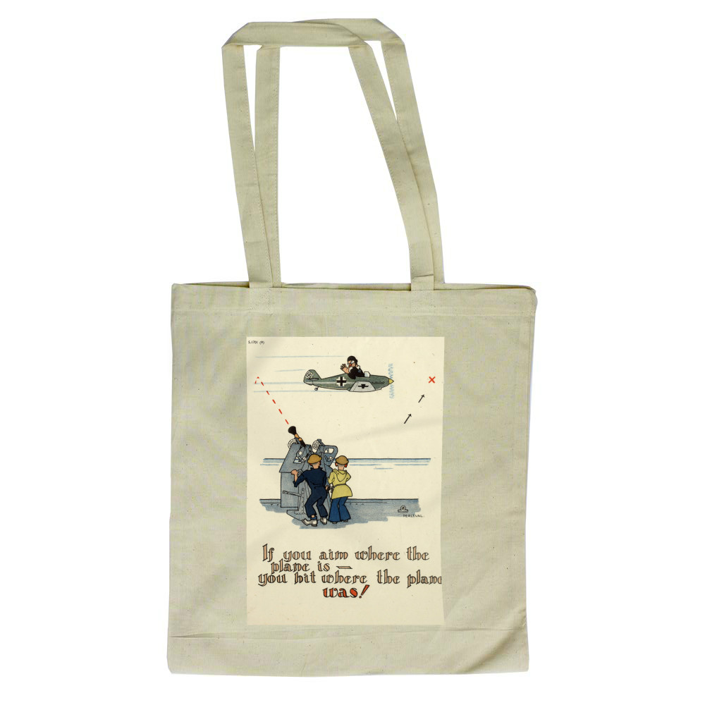 Where the plane is Tote Bag