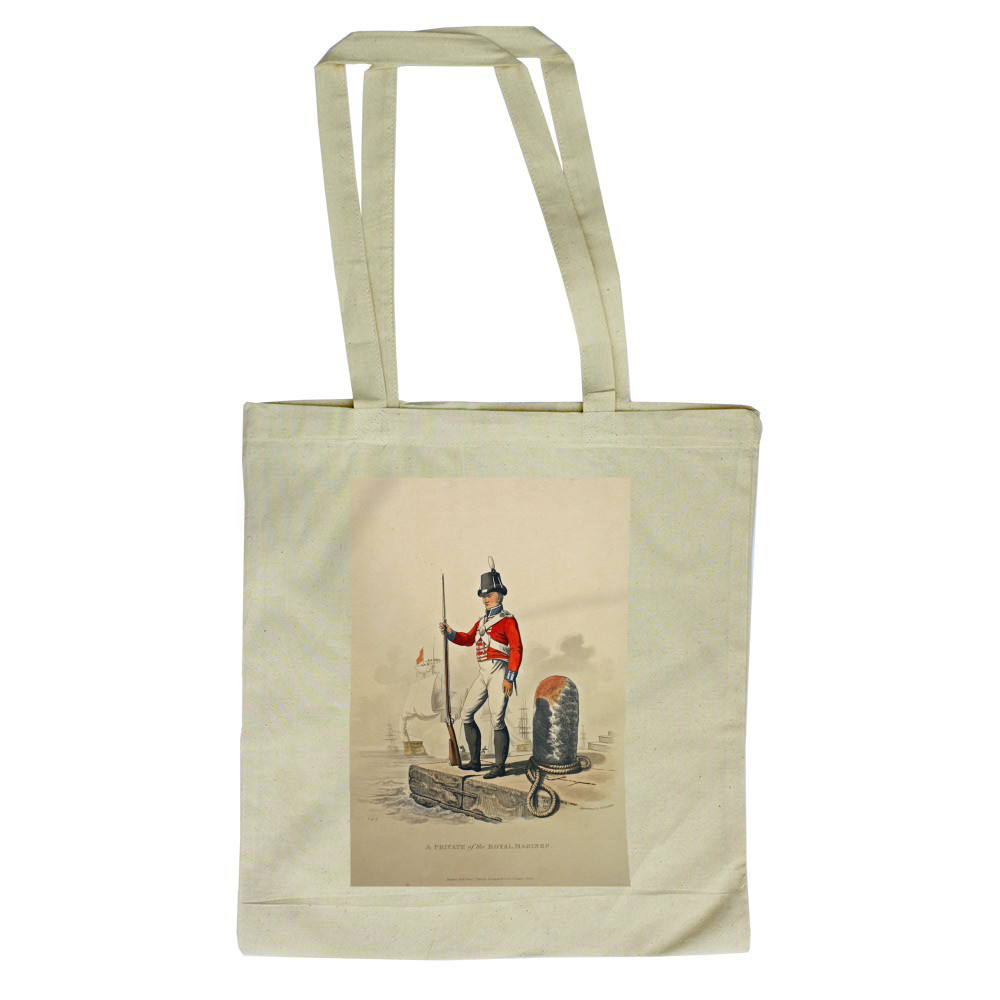 A Private of the Royal Marines Tote Bag