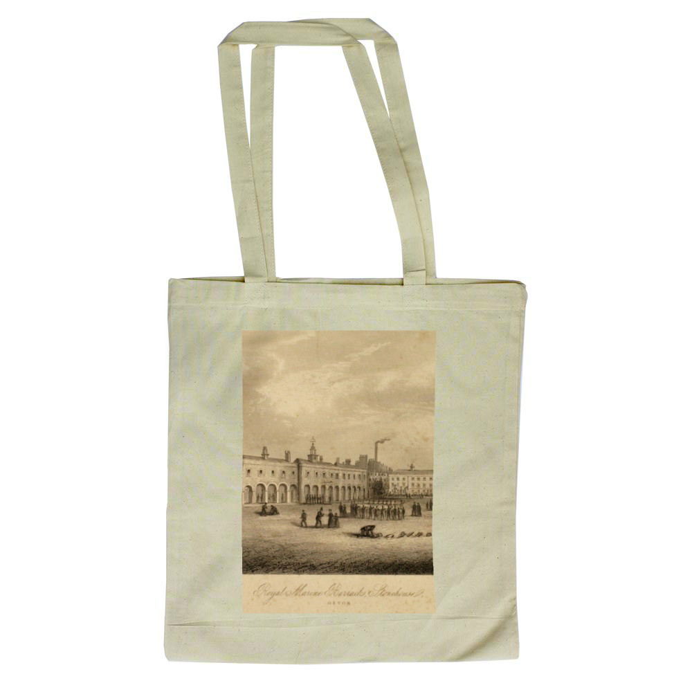 Royal Marines Barracks Stonehouse, Devon Tote Bag