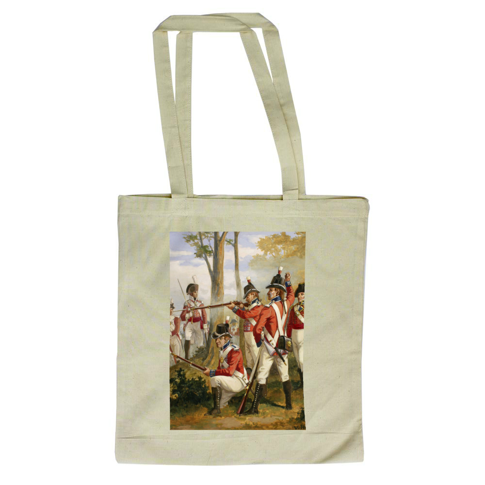 Royal Marines' uniforms 1790-1807 Tote Bag
