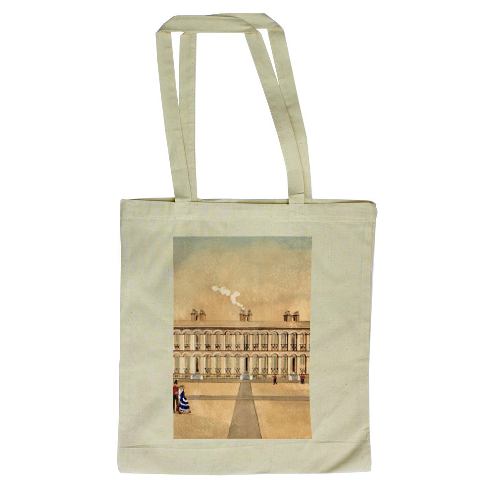 Royal Marines Barracks Woolwich, 1855 Tote Bag