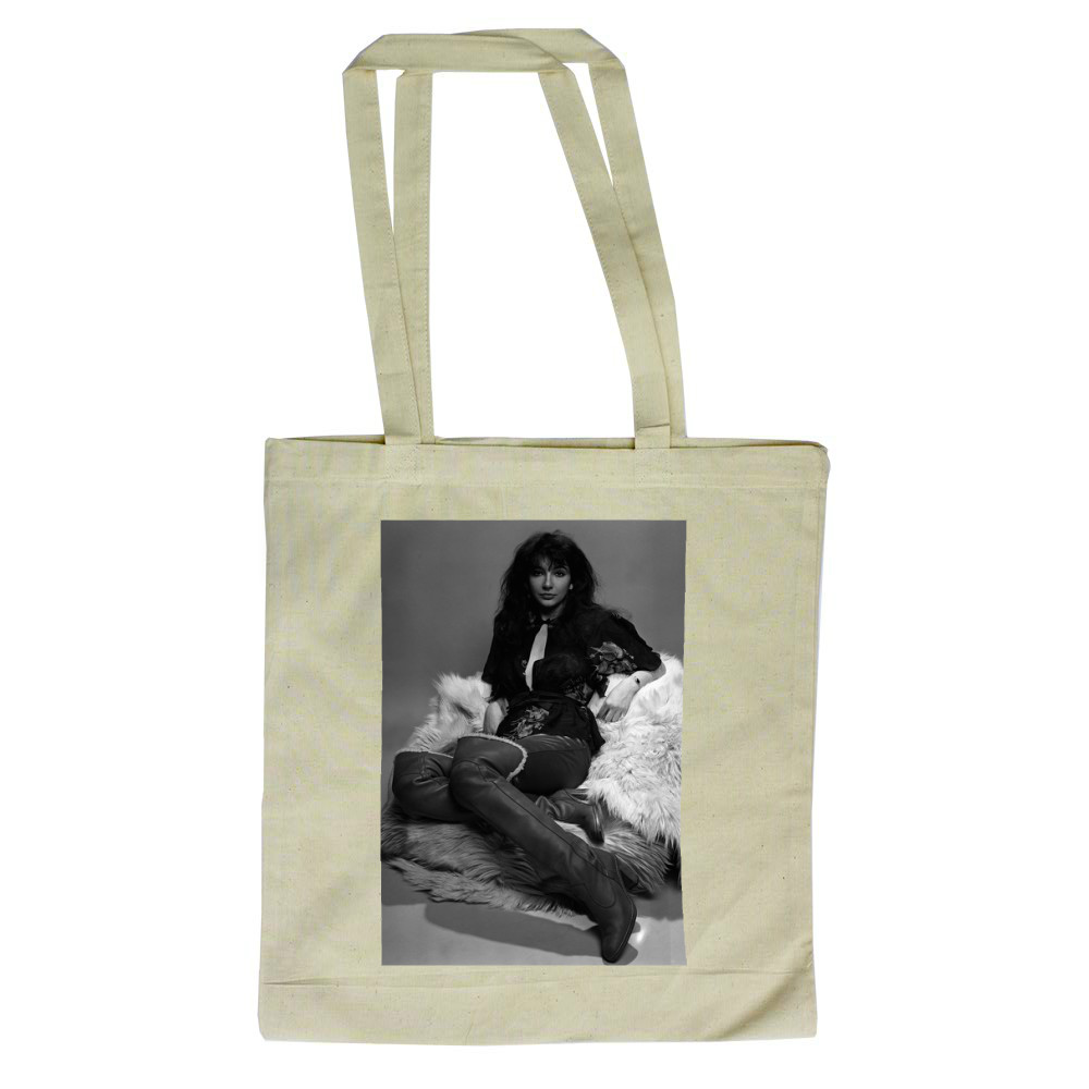 Singer Kate Bush in the studio March 1978 Tote Bag