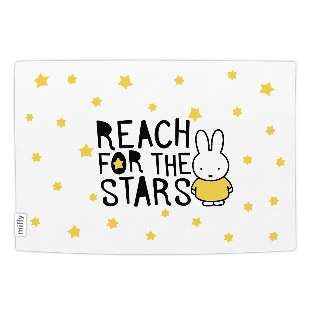 miffy reach for the stars baby blanket