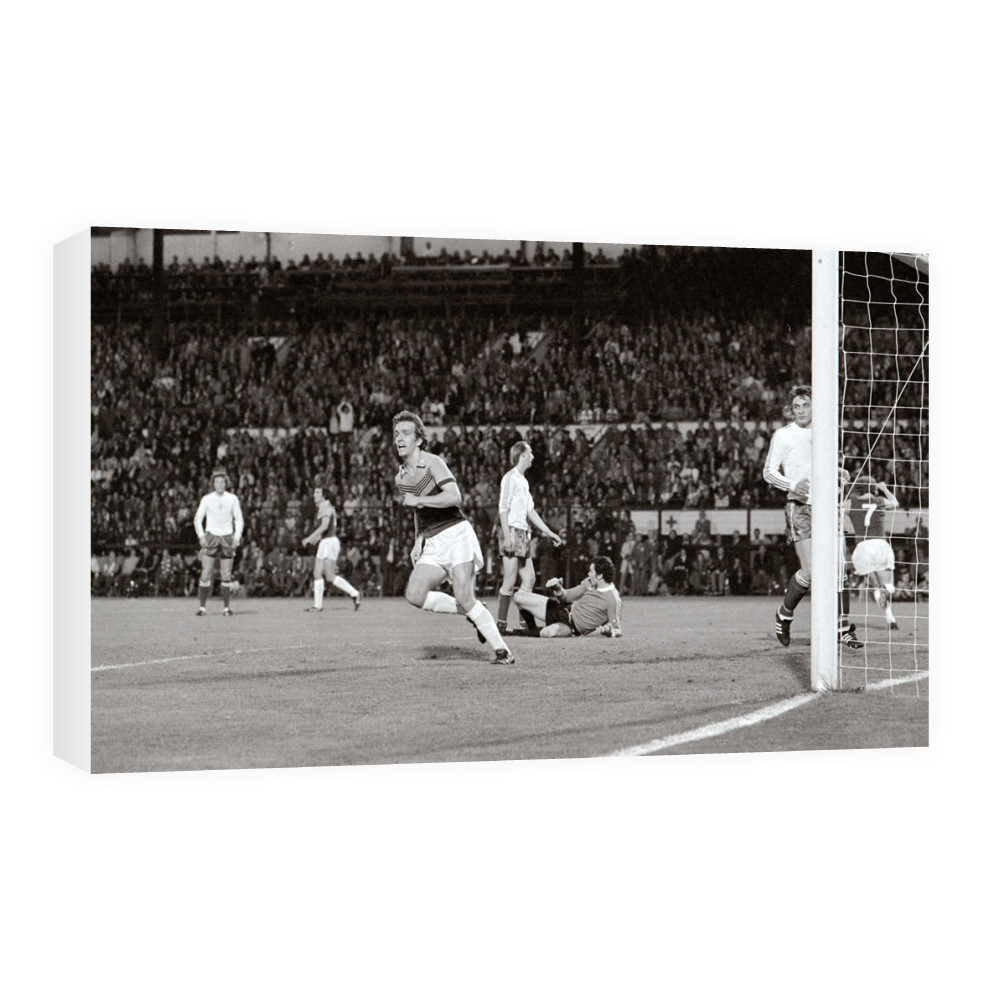 European Cup Winners Cup Final at the Heysel Stadium, May 1976. Anderlecht.. Canvas