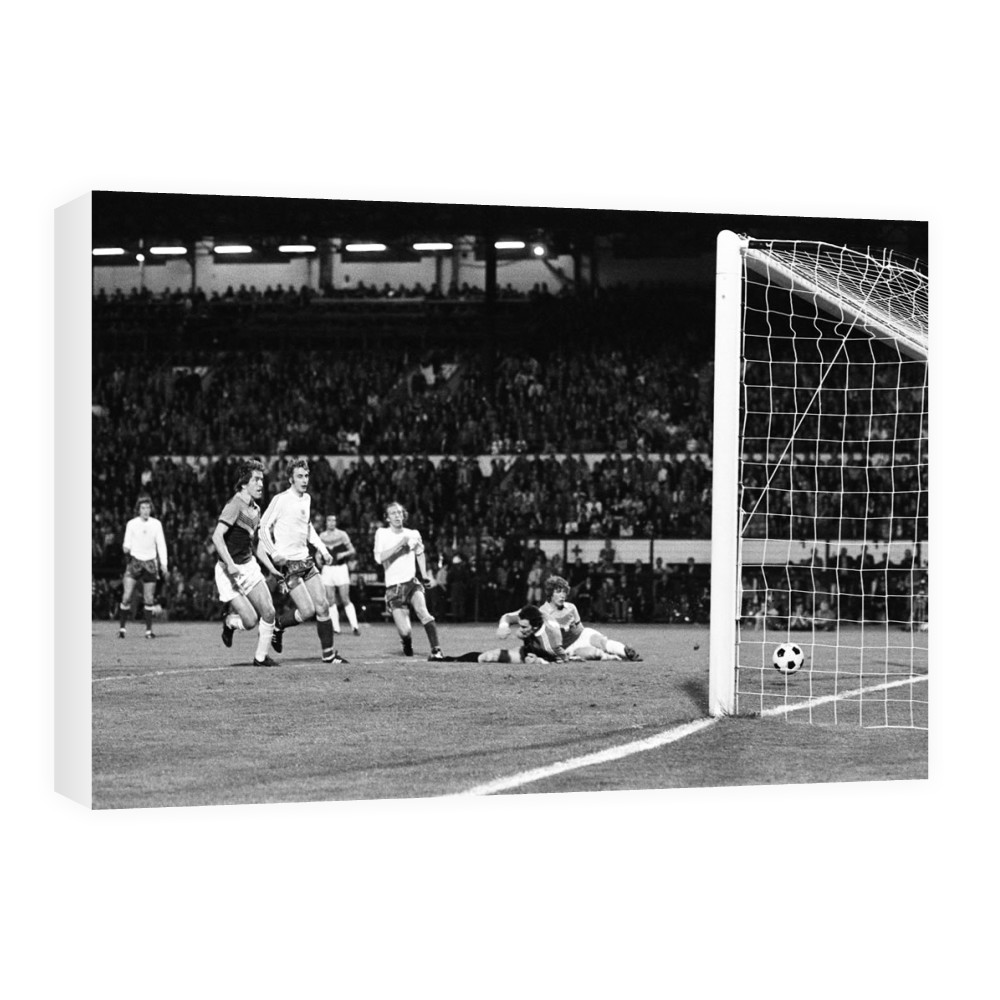 European Cup Winners Cup Final, Anderlecht 4 v West Ham 2, 6th April 1976. Canvas