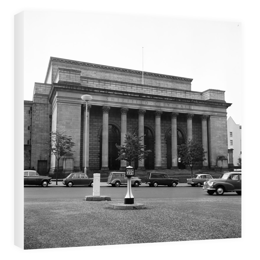 Sheffield City Hall, 1965 Canvas