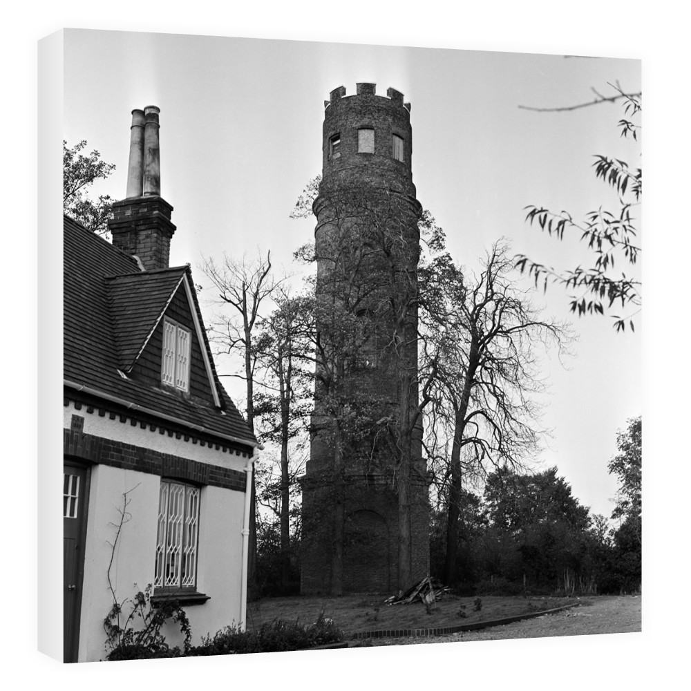 Stratton's Folly in Little Berkhamsted, 1969. Canvas