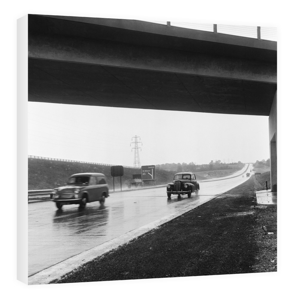 The M1 Motorway Canvas Canvas