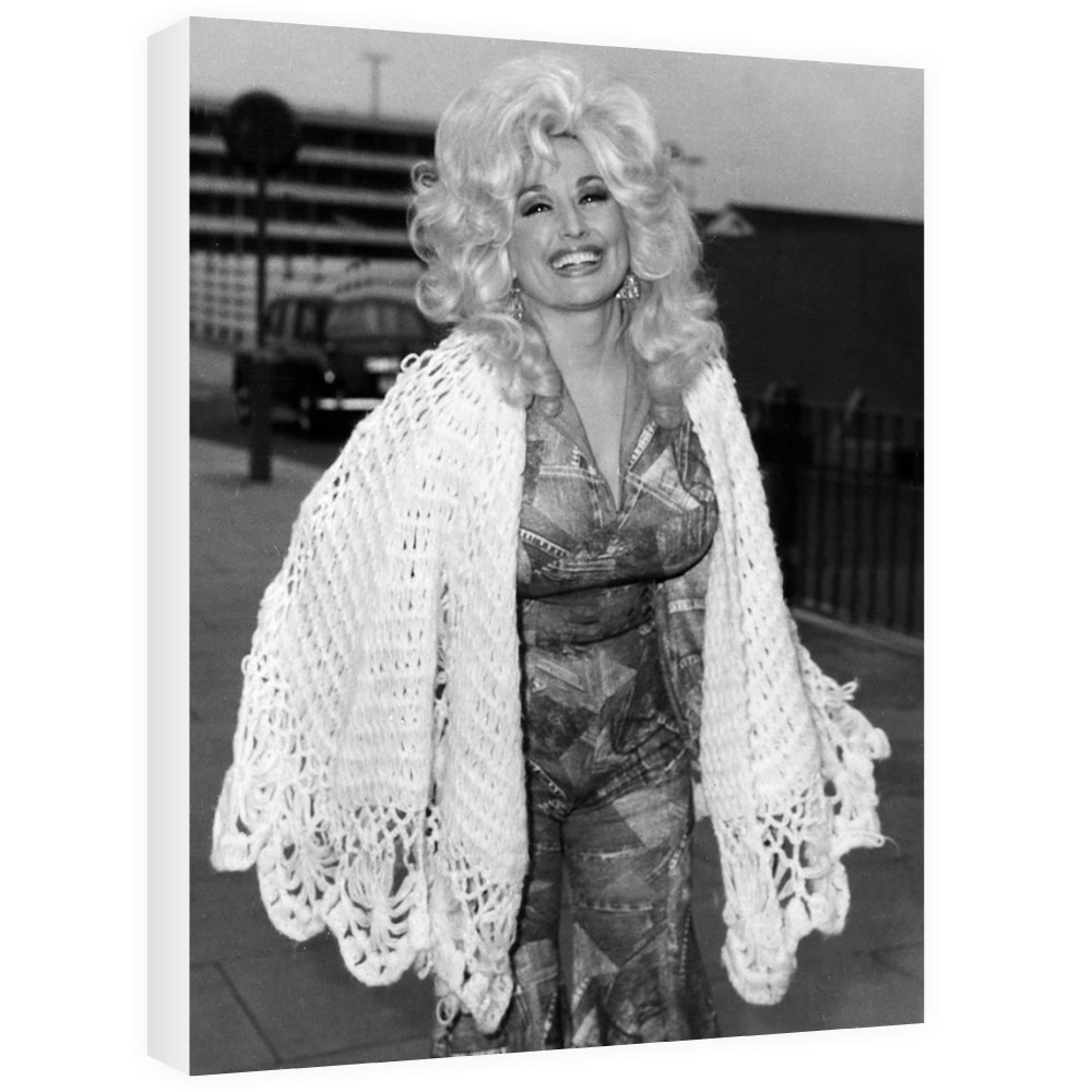 Dolly Parton Canvas