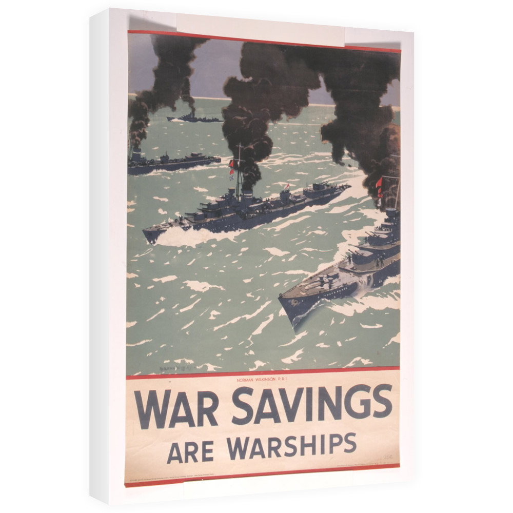 War Savings are Warships Canvas