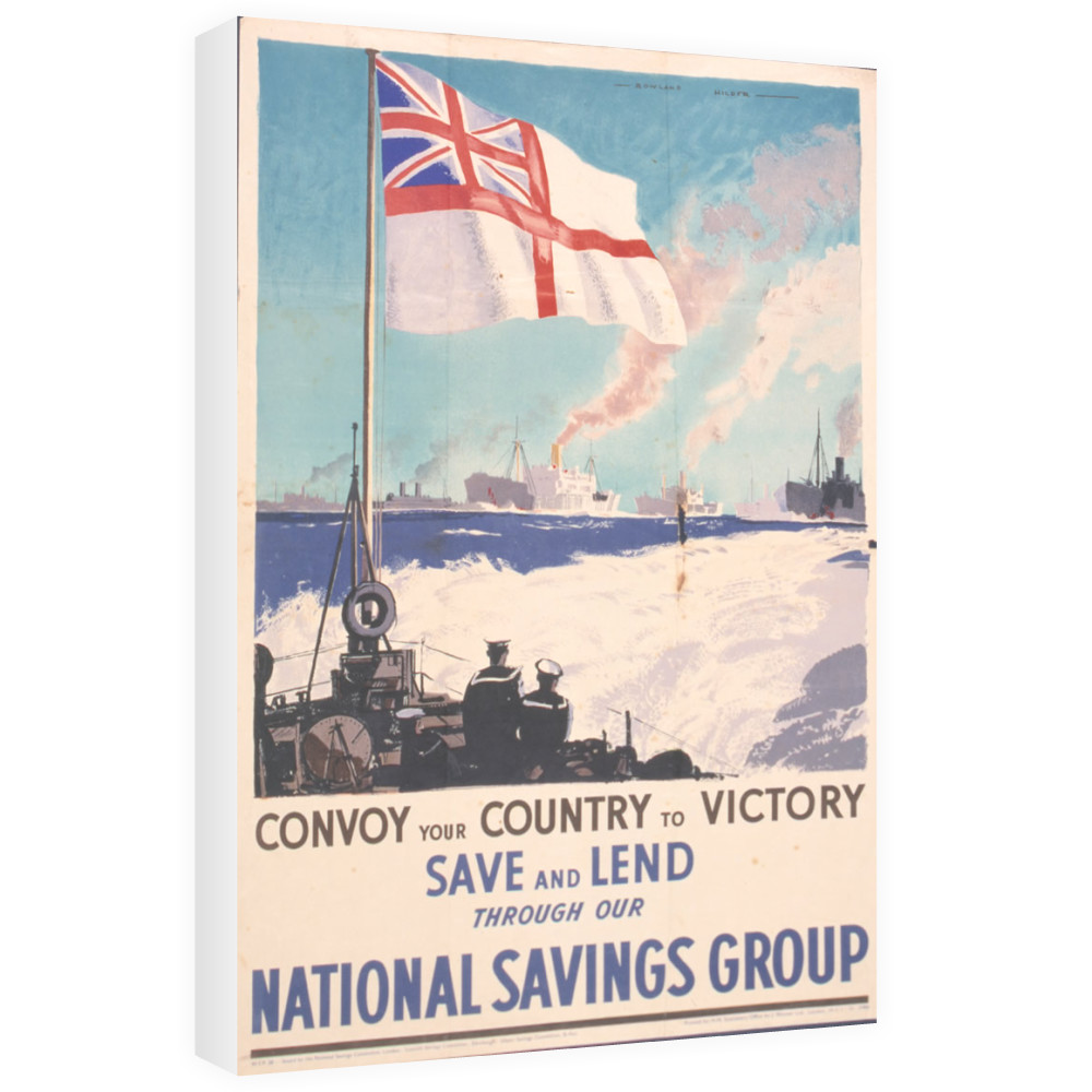 Convoy Your Country to Victory Canvas