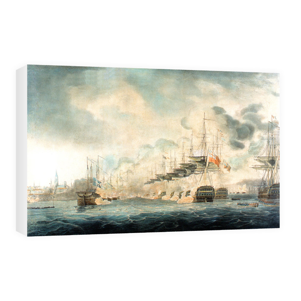 The Battle of Copenhagen Canvas