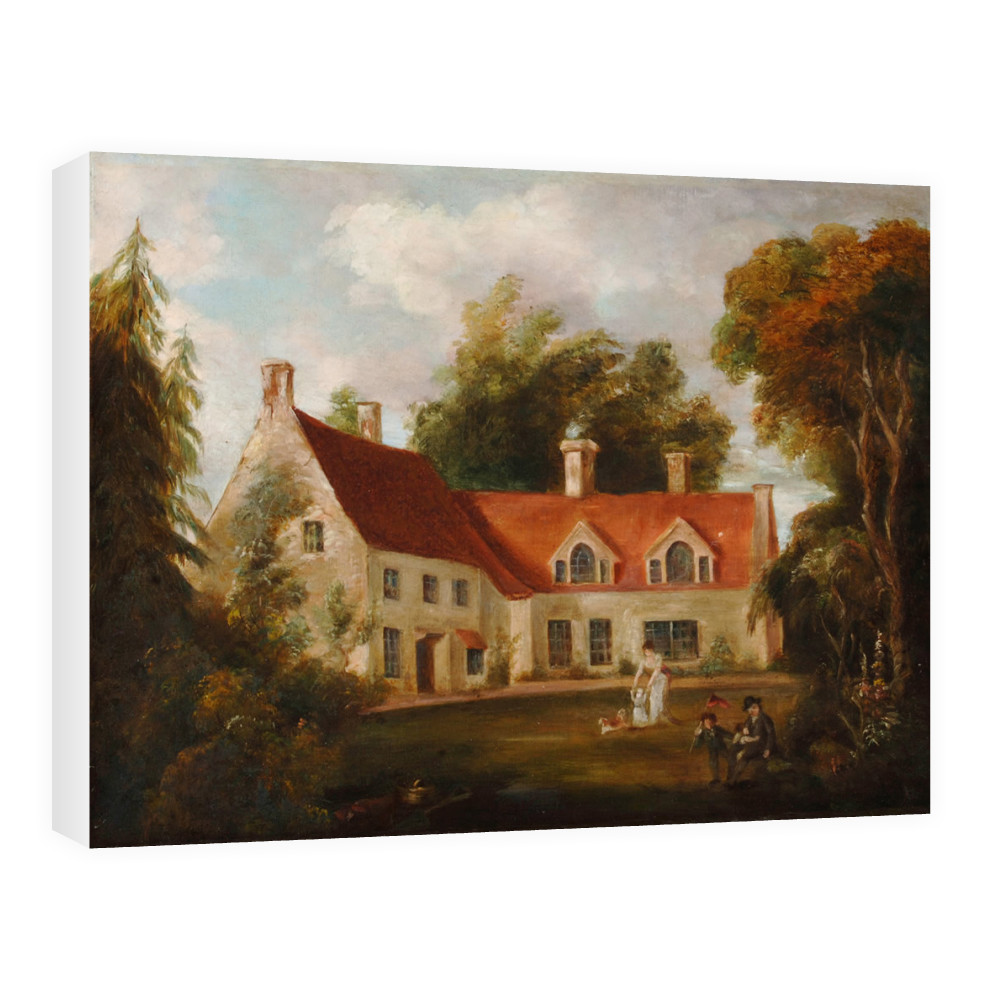 The Parsonage at Burnham Thorpe Canvas