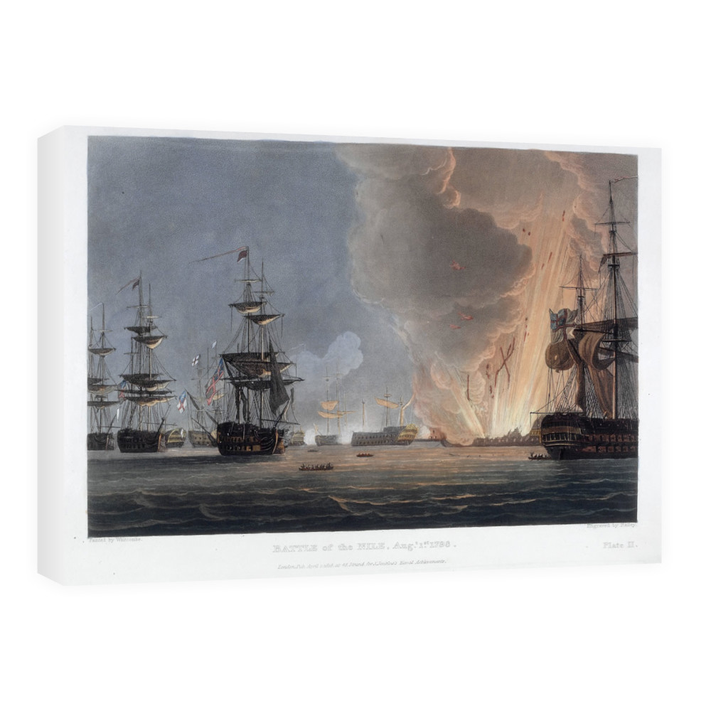 Battle of the Nile, August 1798 Canvas
