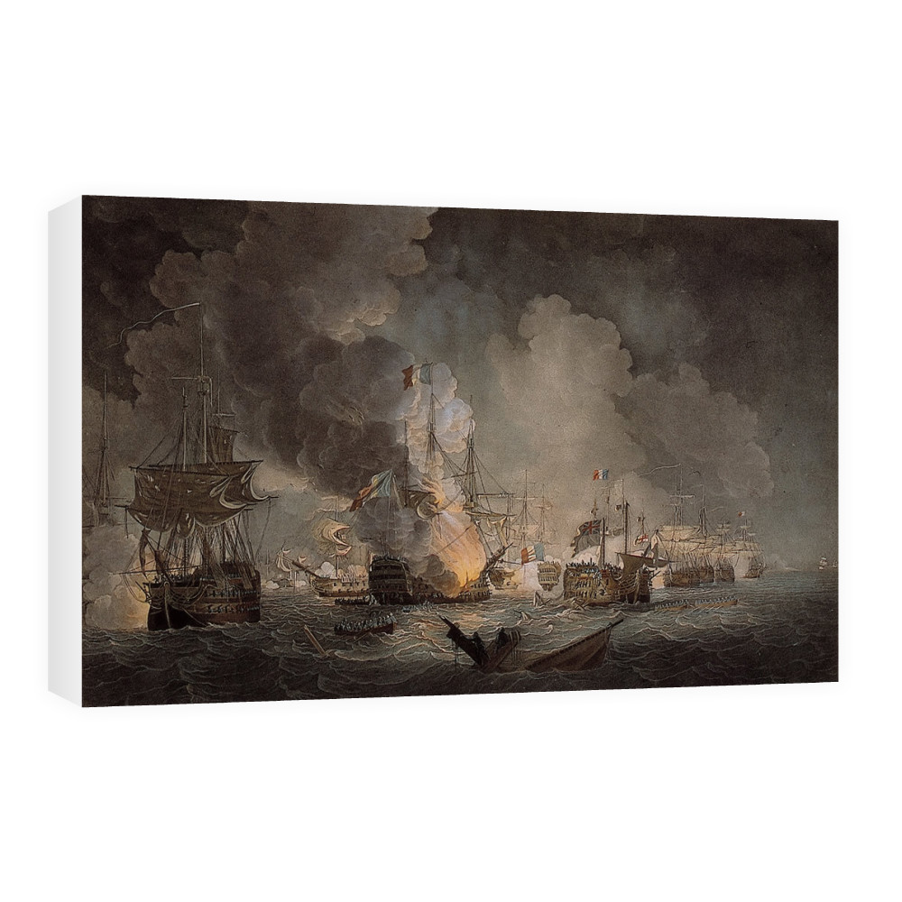 Battle of the Nile Canvas