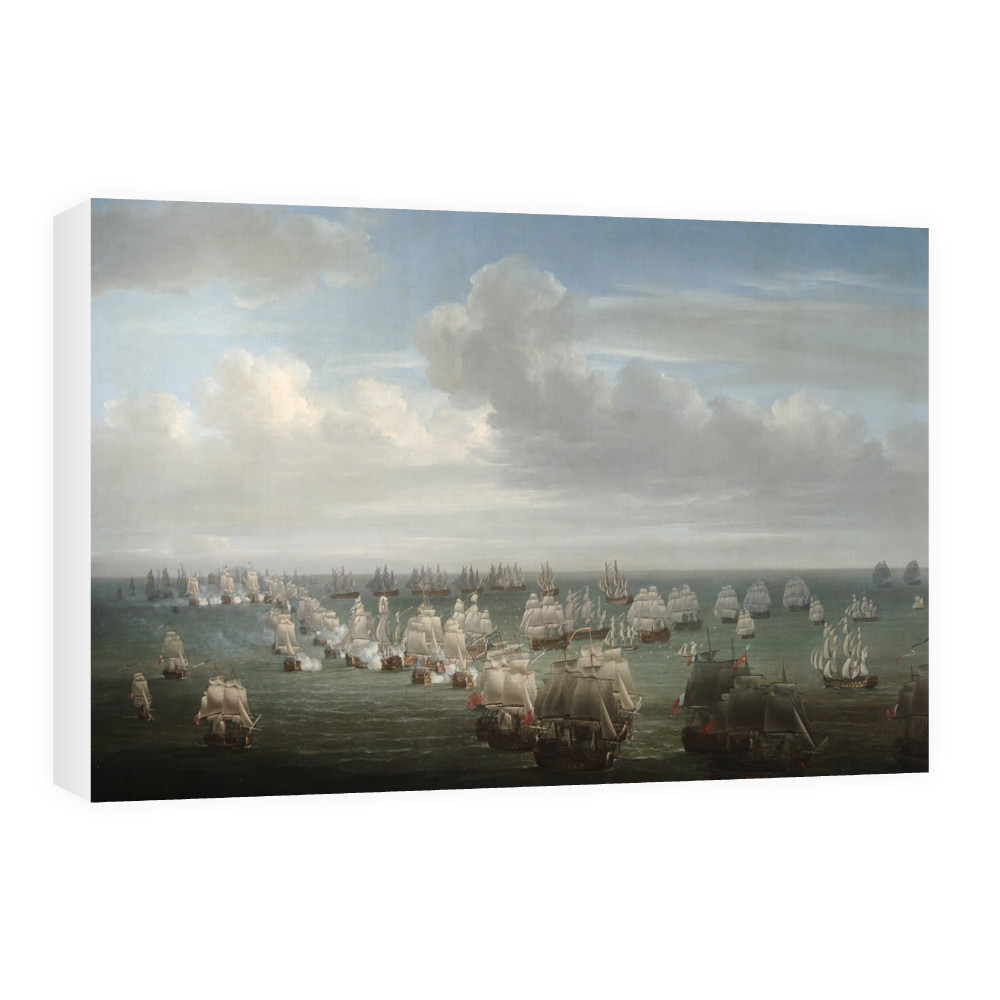 The Battle of Trafalgar Canvas