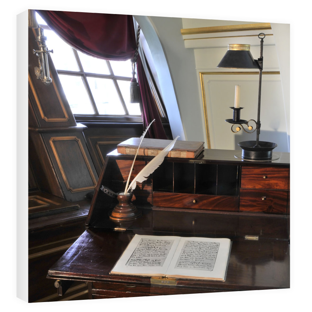Nelson's Desk on HMS Victory Canvas