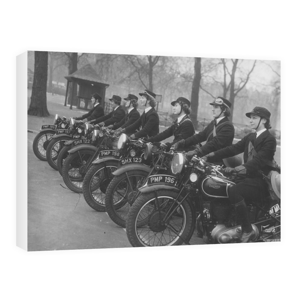 WRNS Despatch Riders Canvas