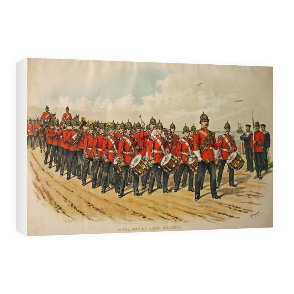 Royal Marine Light Infantry Canvas